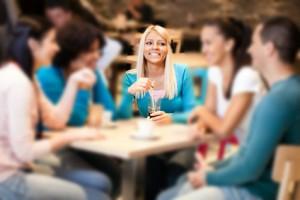 Détecter les troubles de l'audition : restaurant